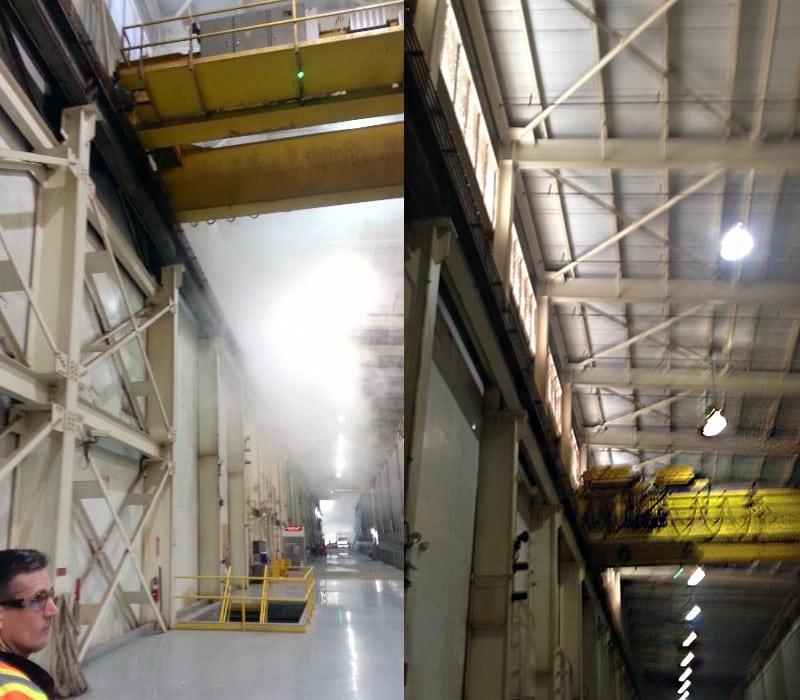 pratt industries' new ventilation system