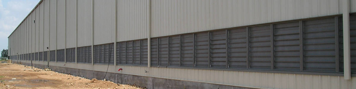 industrial louvers vs commercial louvers