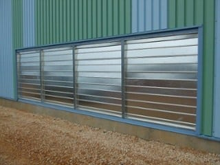 Steel Wall Louver