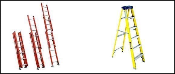 Ladder Safety Tips types