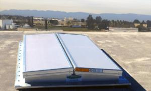 Aluminum extrusion plant apollo dual use ventilation