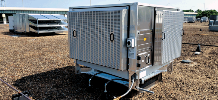adiabatic natural cooling unit