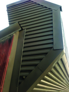 vent repair for glass plants