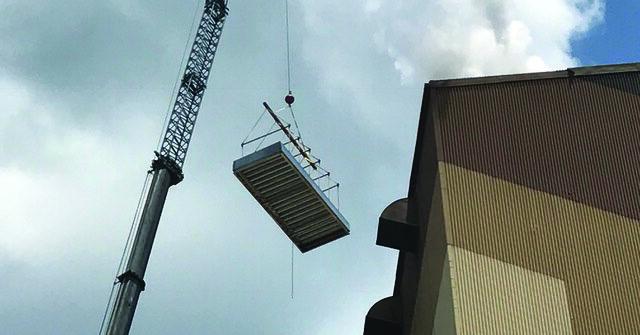 natural ventilation installation