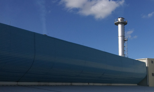 Glass Manufacturer Natural Ventilation