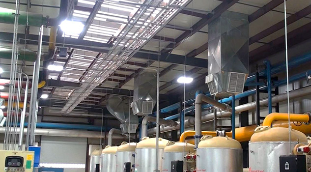natural cooling for the glass industry