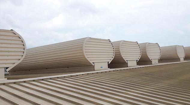 paper plant natural ventilator