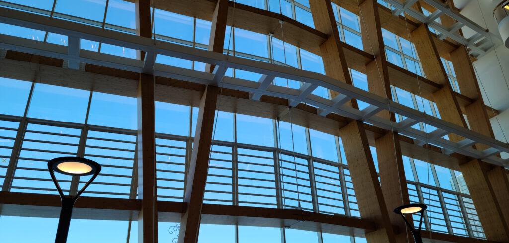 jalousie window vent for commercial ventilation